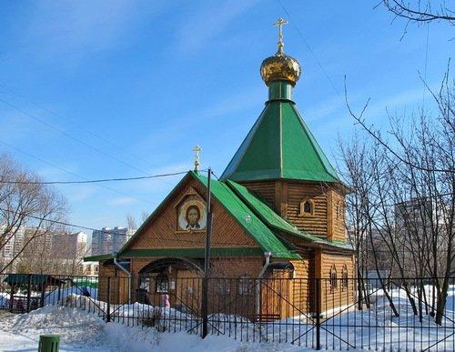 Церковь Троицы в Чертаново