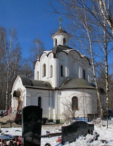 Церковь Успения на Котляковском кладбище