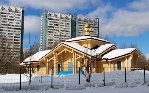 Церковь Царственных Страстотерпцев в Ясенево