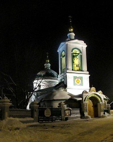 Церковь Троицы на Воробьевых горах