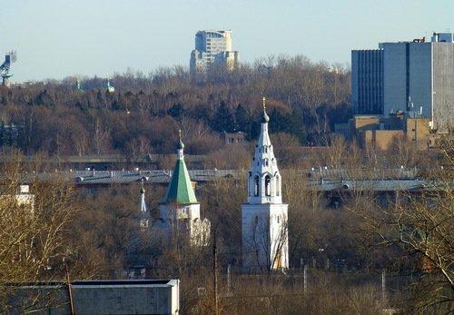 Церковь Троицы в Троицком Голенищево, и еще одна Троица