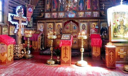 Интерьер церкви Сергия Радонежского в Зеленограде