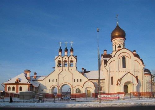 Церковь Пантелеимона Целителя в Южном Бутово