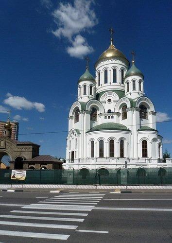 Церковь Сергия Радонежского в Солнцево.
