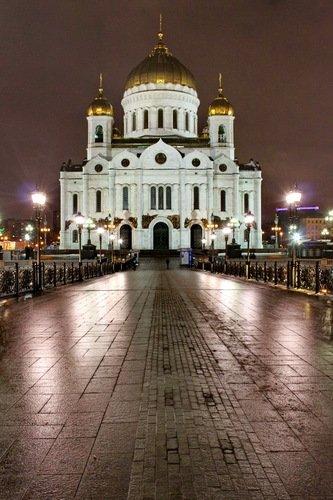 Собор Рождества Христова, вид с Патриаршего мостика