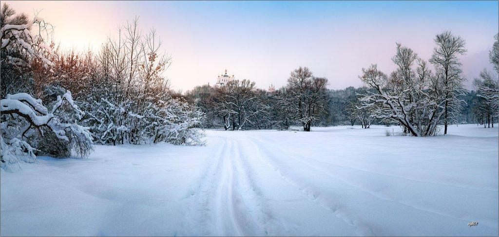 Узоры снежных красот
