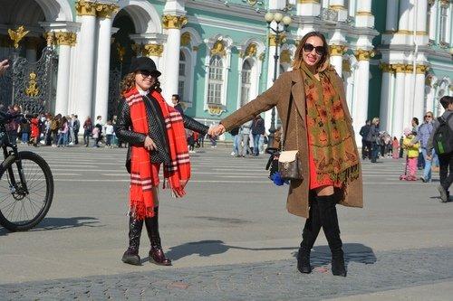 прогулка по Дворцовой