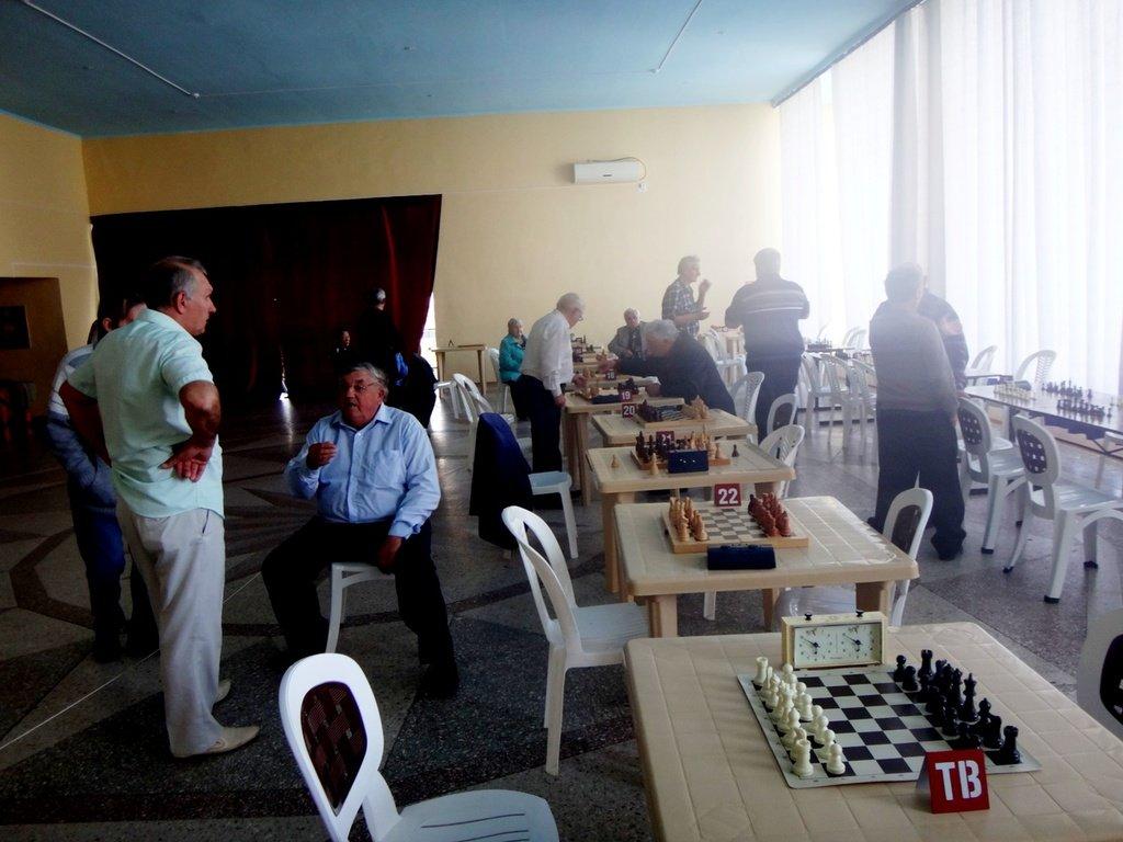 07.04.19. Шахматные соревнования... Участие в турнире. Выселки. 2019-04-07 ... 056