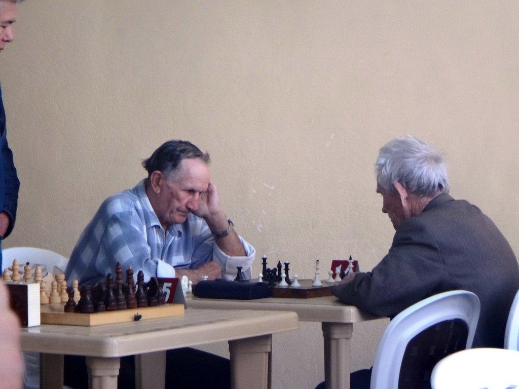 07.04.19. Шахматные соревнования... Участие в турнире. Выселки. 2019-04-07 ... 050
