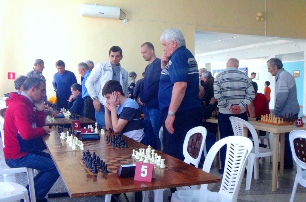 07.04.19. Шахматные соревнования... Участие в турнире. Выселки. 2019-04-07 ... 047