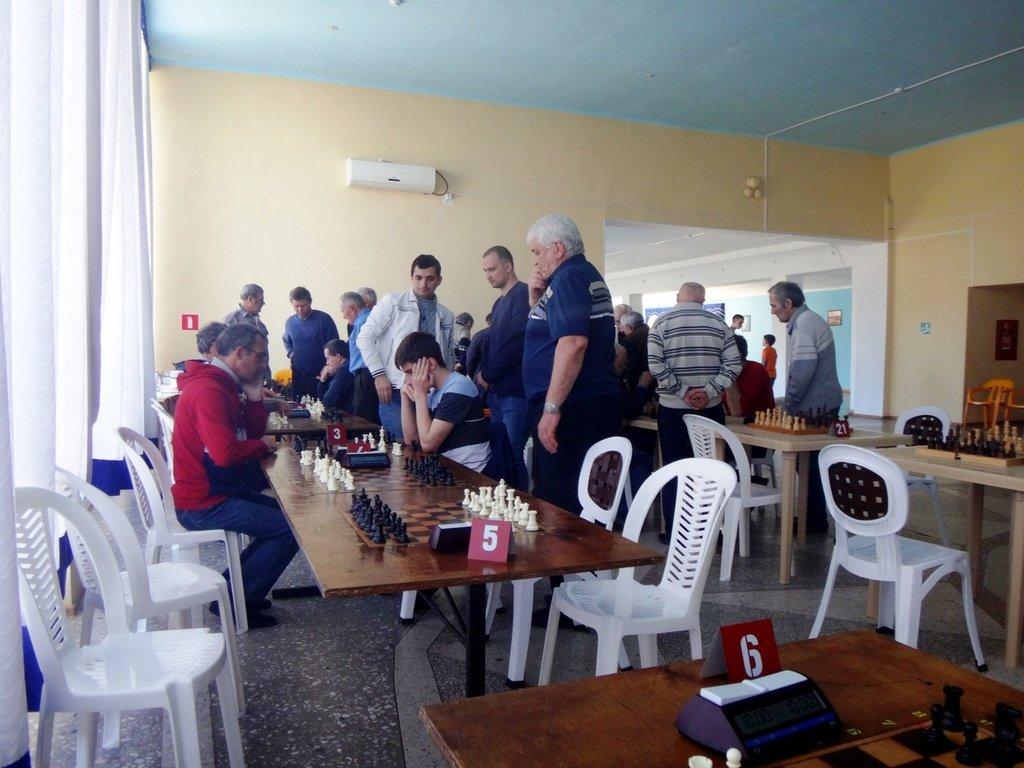 07.04.19. Шахматные соревнования... Участие в турнире. Выселки. 2019-04-07 ... 031