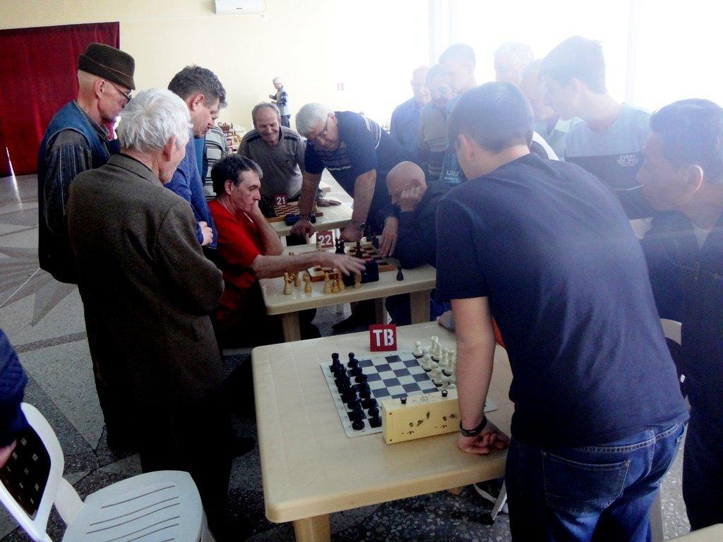 07.04.19. Шахматные соревнования... Участие в турнире. Выселки. 2019-04-07 ... 030