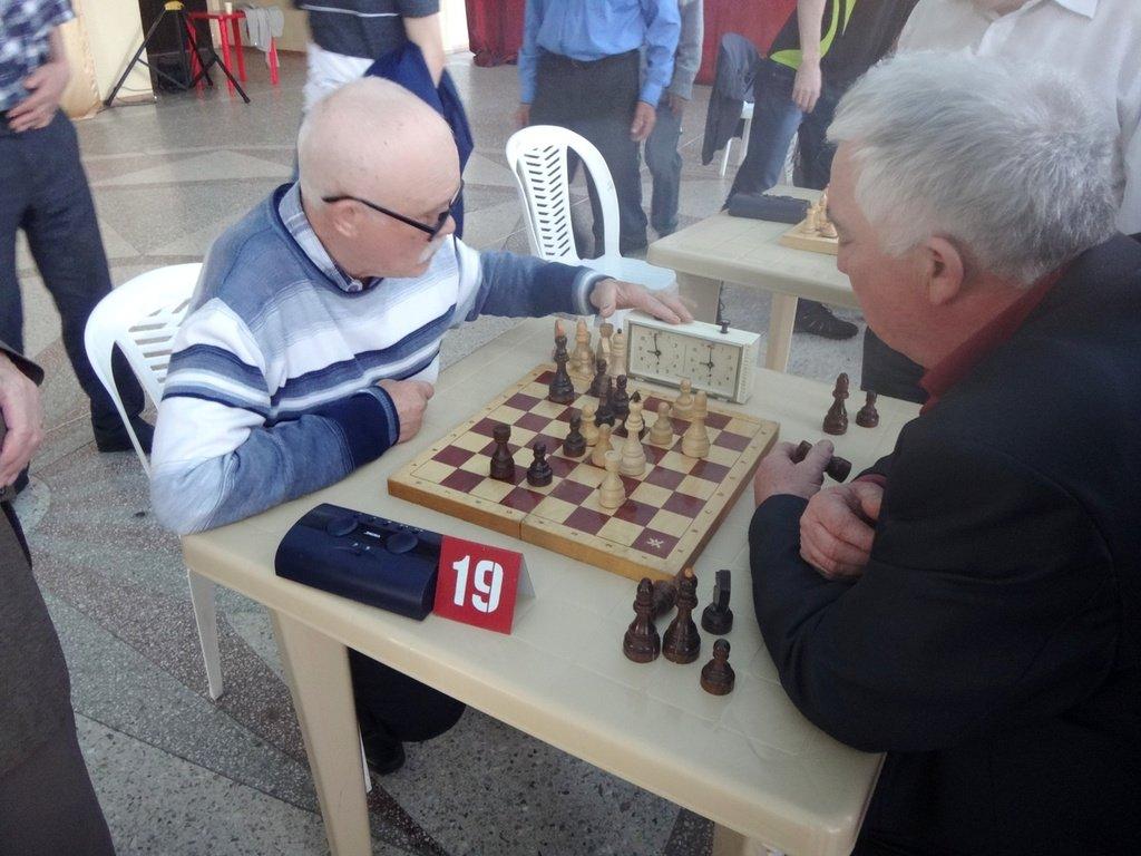 07.04.19. Шахматные соревнования... Участие в турнире. Выселки. 2019-04-07 ... 019