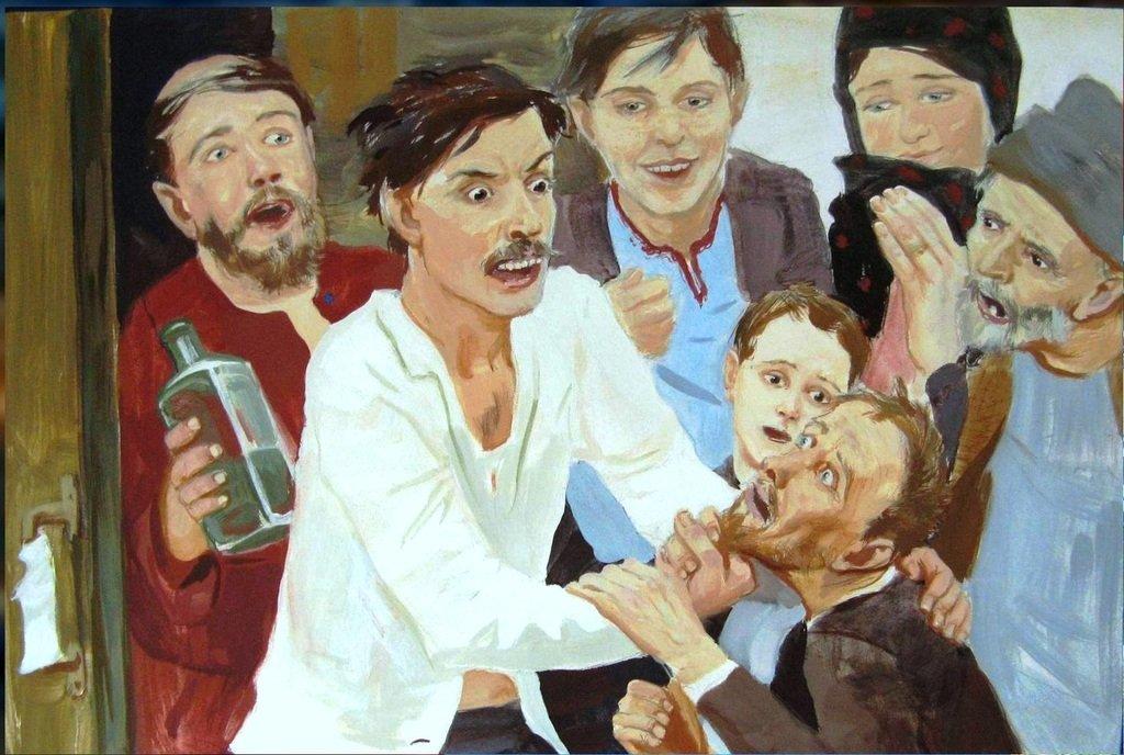 Иллюстрация к роману Достоевского Братья Карамазовы