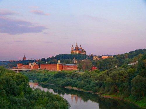 Храмы и крепость Смоленска