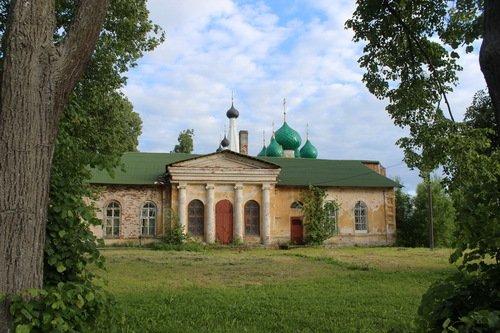Церковь Алексия, митрополита Московского, в Алексеевском Угличском монастыре