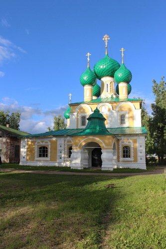 Церковь Усекновения Главы Иоанна Предтечи в Алексеевском Угличском монастыре