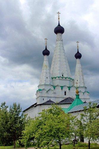 Церковь Успения Пресвятой Богородицы в Алексеевском Угличском монастыре