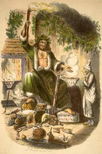 Чарльз Диккенс. «Рождественская песнь в прозе».Строфа третья.