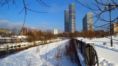 Зима в Ростокино