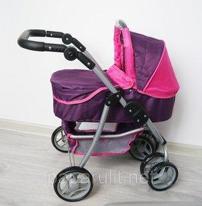Коляска для кукол Buggy Boom Amidea 8567В фиолетовая