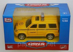 Машинка Джип Уаз Патриот Такси