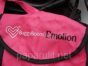 игрушечная коляска с сумочкой Buggy Boom Emotion