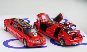 Лимузин Машинкаоткрываются двери, капот, багажник