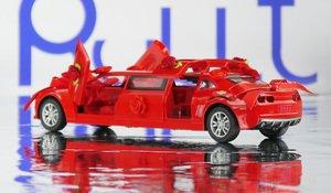 Красный лимузин игрушка