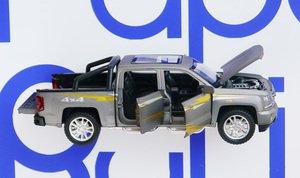 Silverado пикап открываются двери, капот, кузов 1/32