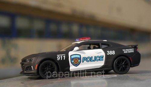 Kinsmart 2017 Camaro ZL1 Police