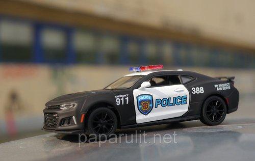 Машинка Kinsmart 2017 Camaro ZL1 Police 911