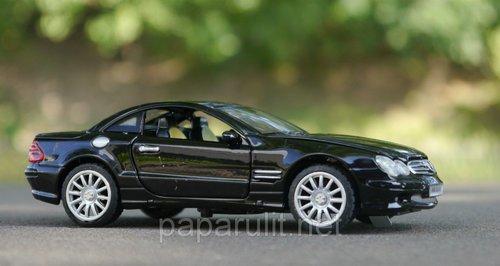 Машинка металлическая WB Mercedes Benz S 500 со звуком и светом
