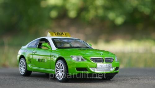 Машинка БМВ такси