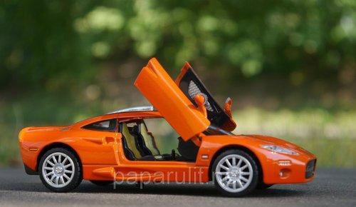 Машинка металлическая WB Spyker C8 со звуком и светом