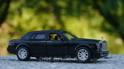 Машинка металлическая WB Rolls-Royce Phantom со звуком и светом