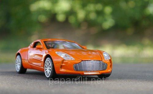 Машинка металлическая WB Aston Martin со звуком и светом