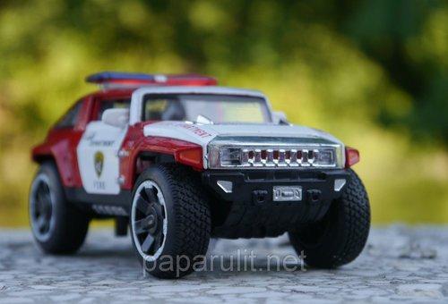 Машинка Хаммер пожарная
