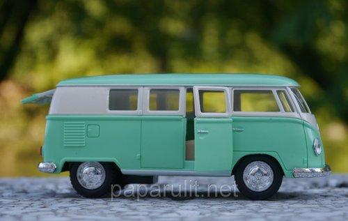 Машинка Volkswagen Classical Bus 1962 пастельные цвета