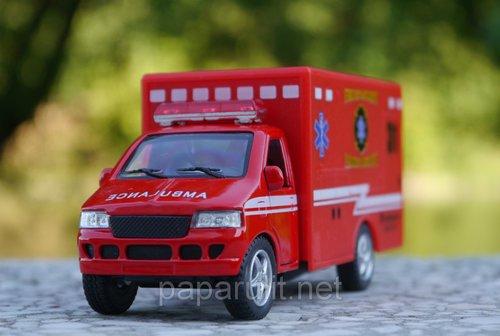 Kinsfun Ambulance скорая помощь