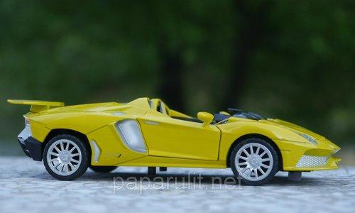 Машинка металлическая Lamborghini кабриолет