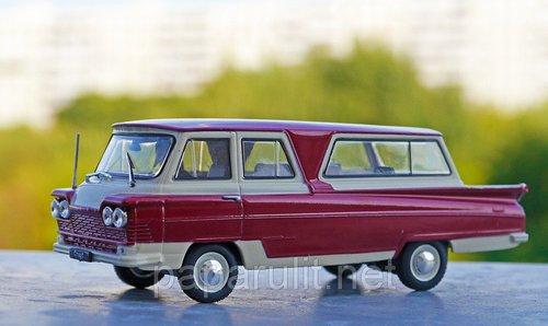 Микроавтобус Старт коллекционная машинка