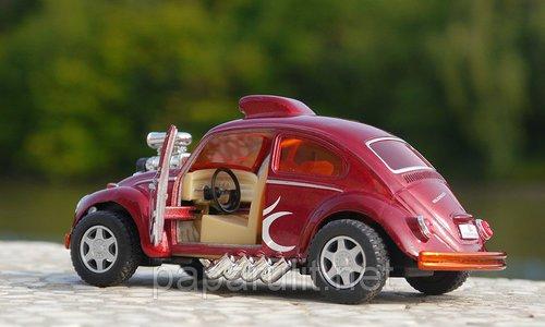Kinsmart Volkswagen Beetle Custom Dragracer