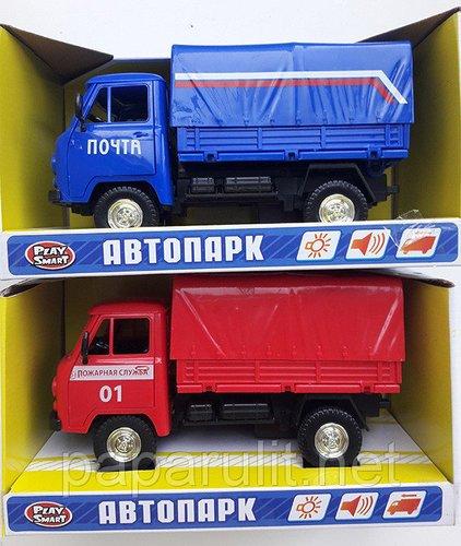 Автопарк УАЗ 3909