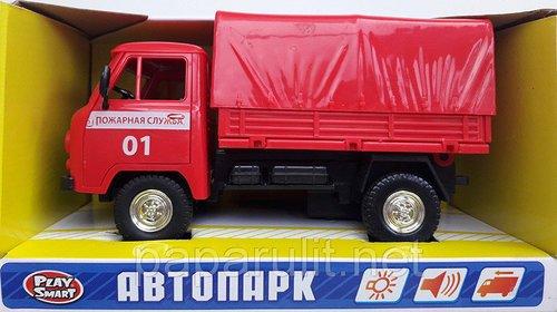 Пожарный УАЗ Автопарк со звуком и светом