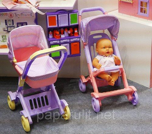 Мир Детства - 2018 кукольные коляски