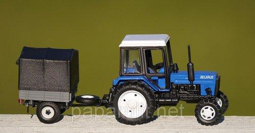 игрушечный Трактор с прицепом тент