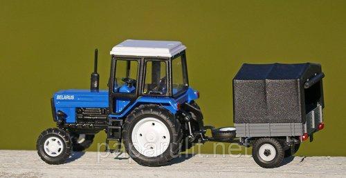 игрушечный Трактор Беларус с прицепом тент