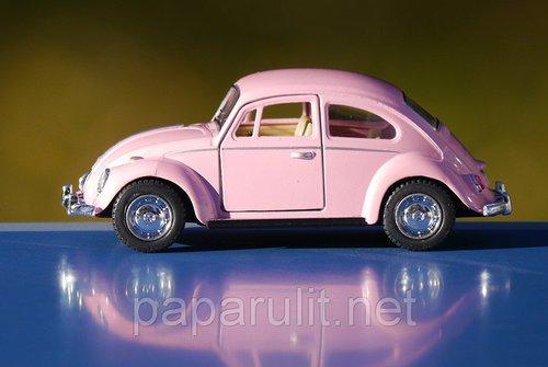 Kinsmart Beetle пастельные цвета