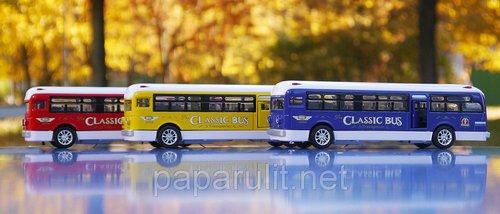 Автобус игрушечный Classical Bus